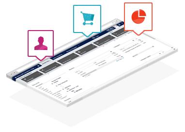 Gestion et segmentation des données clients module marketing