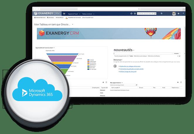 EXANERGY CRM, à installer sur vos serveurs ou à utiliser par internet (cloud)